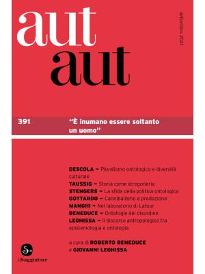 Aut aut. Vol. 391