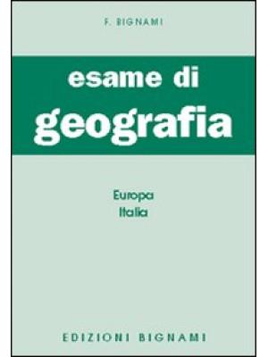 Esame di geografia. Europa-Italia
