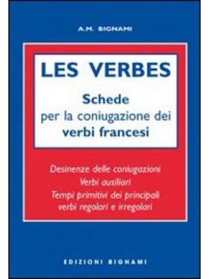 Les verbes. Schede per coniugazione verbi francesi. Ediz. italiana e francese