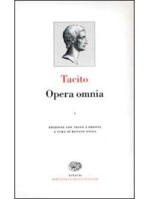 Opera omnia. Con testo latino a fronte. Vol. 1