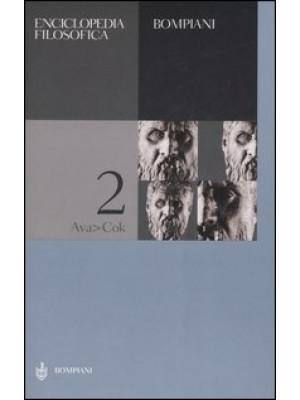 Enciclopedia filosofica. Vol. 2: Ava-Cok