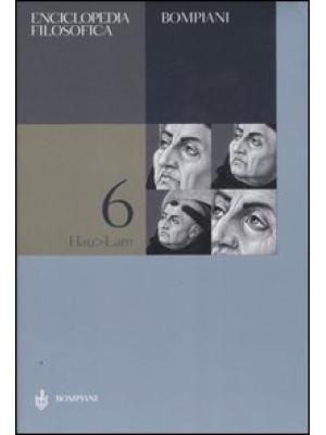 Enciclopedia filosofica. Vol. 6: Hau-Lam