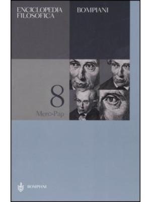 Enciclopedia filosofica. Vol. 8: Men-Pap