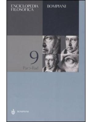 Enciclopedia filosofica. Vol. 9: Par-Rad
