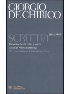 Scritti. Vol. 1: 1911-1945