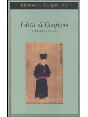 I detti di Confucio
