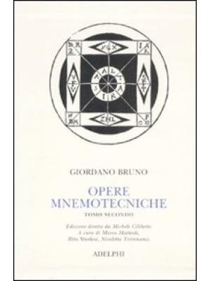 Opere mnemotecniche. Testo latino a fronte. Vol. 2