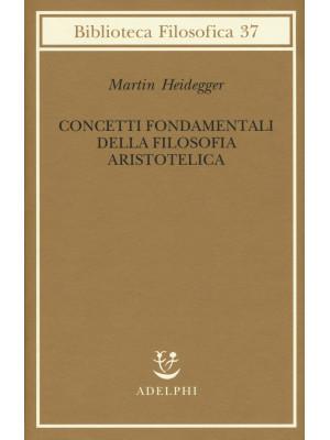 Concetti fondamentali della filosofia aristotelica