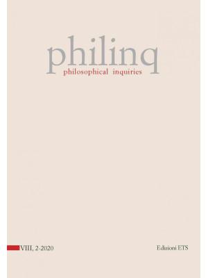 Philinq. Philosophical inquiries (2020). Vol. 2