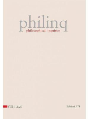 Philinq. Philosophical inquiries (2020). Vol. 1