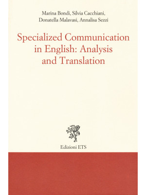 Specialized communication in english: analysis and translation