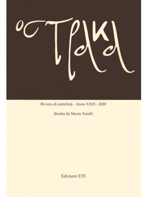 Ostraka. Rivista di antichità (2020). Vol. 29
