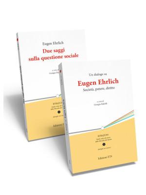 Due saggi sulla questione sociale-Un dialogo su Eugen Ehrlich. Società, potere, diritto