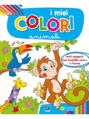 Gli animali. I miei colori. Con scatola con 6 pennarelli