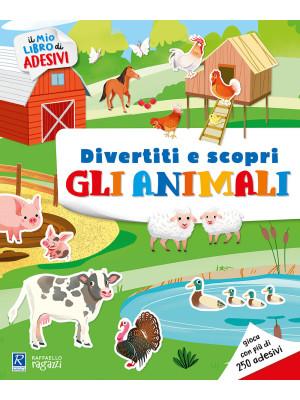 Gli animali e i loro ambienti. Il mio libro di adesivi