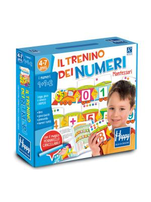 Il trenino dei numeri Montessori. Happy. Ediz. illustrata. Con gadget