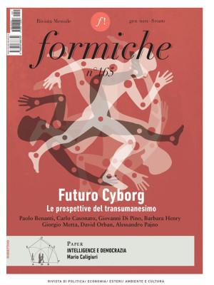 Formiche (2021). Vol. 165: Futuro Cyborg. Le prospettive del transumanesimo