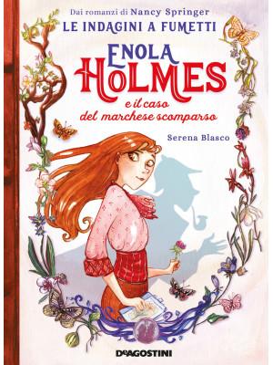 Enola Holmes e il caso del marchese scomparso. Le indagini a fumetti da Nancy Springer. Vol. 1