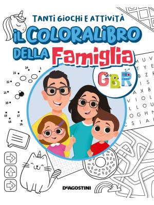 Il coloralibro della famiglia GBR