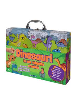Dinosauri. La mia valigetta creativa. Ediz. a colori. Con gadget
