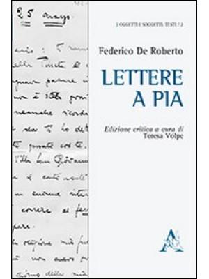 Lettere a Pia