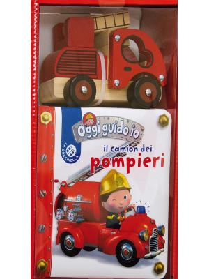 Il camion dei pompieri. Blu oggi guido io. Cofanetto Leggo e gioco. Ediz. a colori
