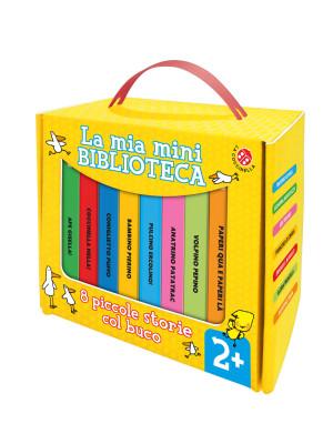 8 piccole storie col buco. La mia mini biblioteca. Ediz. a colori