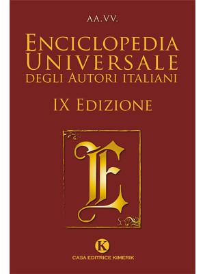 Enciclopedia universale degli autori italiani. Nuova ediz.