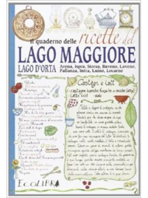 Il quaderno delle ricette del lago Maggiore