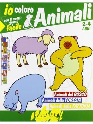 Coloro gli animali: selvaggi e del mare. Del bosco e della fattoria