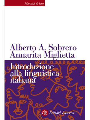 Introduzione alla linguistica italiana. Nuova ediz.