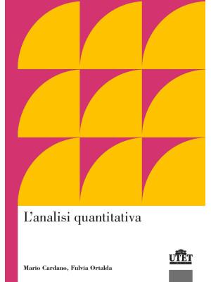 L'analisi quantitativa