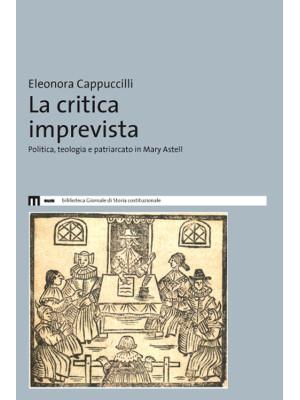 La critica imprevista. Politica, teologia e patriarcato in Mary Astell