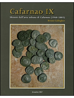 Cafarnao IX. Monete dall'area urbana di Cafarnao (1968-2003)