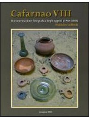 Cafarnao VI, VII, VIII. Documentazione oggetti, ceramica (1968-2003)