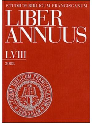 Liber annuus 2008