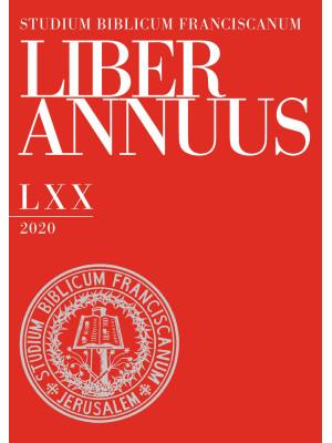 Liber annuus 2020