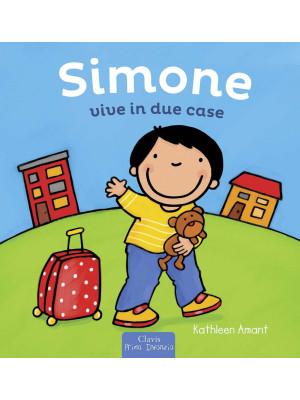Simone vive in due case. Ediz. a colori