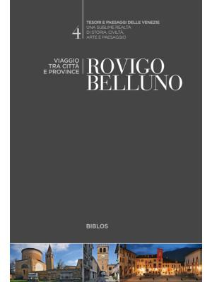 Rovigo, Belluno. Viaggio tra città e province