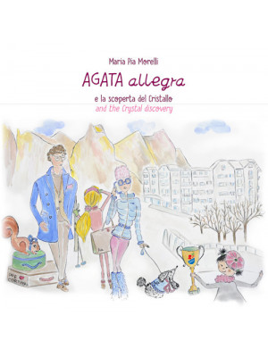 Agata Allegra e la scoperta del cristallo-Agata Allegra and the crystal discovery