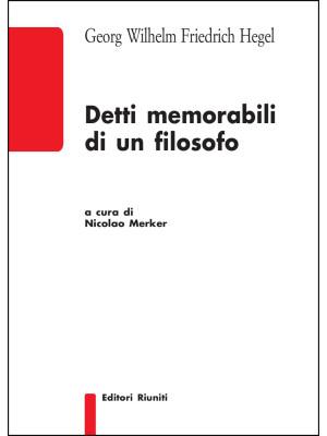 Detti memorabili di un filosofo