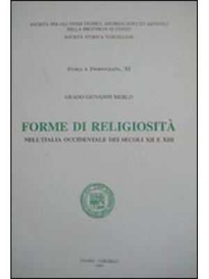 Forme di religiosità nell'Italia occidentale dei secoli XII e XIII