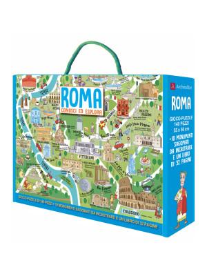 Roma. Conosci ed esplora. Ediz. a colori. Con puzzle