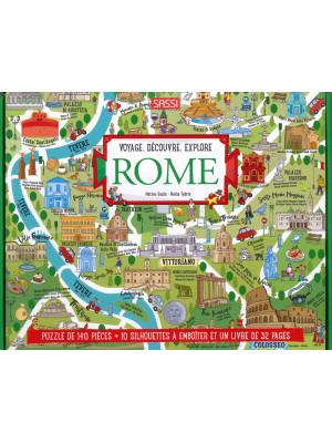 Découvre et explore Rome. Ediz. a colori. Con puzzle