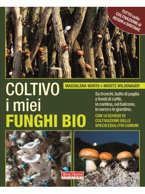 Coltivo i miei funghi bio. Sui tronchi, balle di paglia e fondi di caffè, in cantina, sul balcone, in serra o in giardino