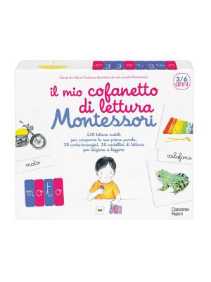 Il mio cofanetto di lettura Montessori. Con Carte