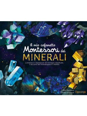 Il mio cofanetto Montessori dei minerali. Ediz. a colori. Con gadget