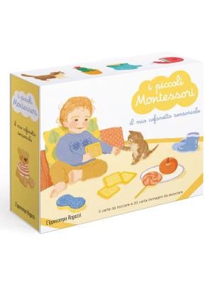 I piccoli Montessori. Il mio cofanetto sensoriale. Con 20 carte ambientali. Con 5 carte tattili