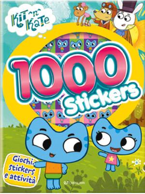 1000 stickers. Kit N Kate. Con adesivi. Ediz. a colori