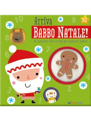 Arriva Babbo Natale! Un divertente libro in rima per imparare i numeri. Ediz. illustrata